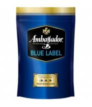 Кофе Ambassador Blue Label растворимый 75 г + 20%