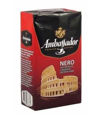 Кофе молотый Ambassador Nero 75 гр