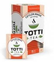 Чай TOTTI Tea Магия Цейлона 25 шт