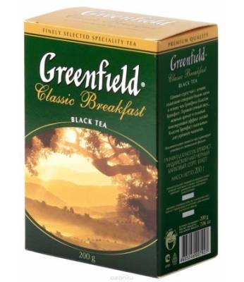 Чай Greenfield Классик Завтрак 100 г