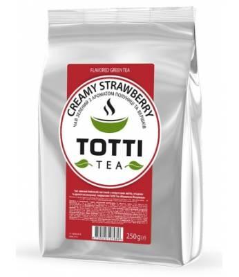 Чай ТОТТІ Tea Сливочная клубника 250 г