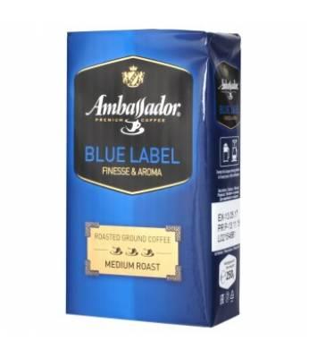 Кофе молотый Ambassador Blue Label 500 гр