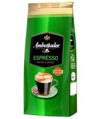Кофе Ambassador Espresso в зернах 900 г