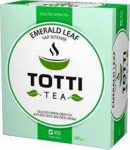 Чай TOTTI Tea Изумрудный лист 100 шт
