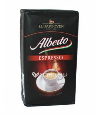 Кофе J.J.Darboven Alberto Espresso молотый 250 г