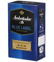 Кофе Ambassador Blue Label молотый 250 г