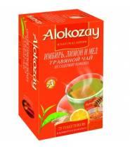 Чай Alokozay Имбирь, Лимоном и Мед 25