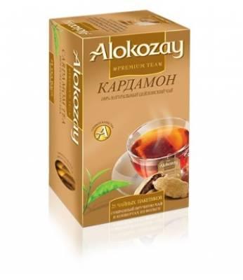 Чай Alokozay Кардамон 25 шт