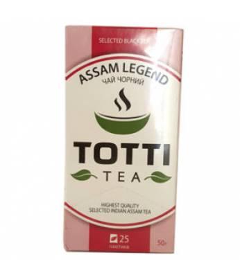Чай TOTTI Tea Легендарный Ассам 25 шт