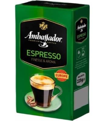 Кофе молотый Ambassador Espresso 225 гр