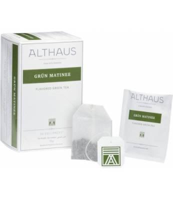 Чай Althaus Grun Matinee 20 шт