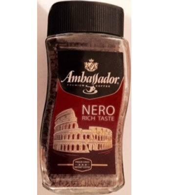 Кофе Ambassador Nero растворимый 190 г