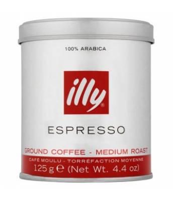 Кофе Illy Espresso Medium молотый ж/б 125 г
