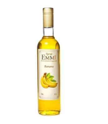 Сироп Emmi Банан желтый 700 мл