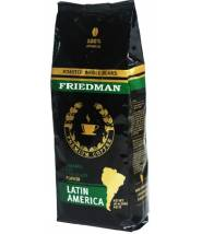 Кофе Friedman Latin America 100 % Arabica в зернах 453 г