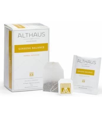 Чай Althaus Ginseng Balance 20 шт