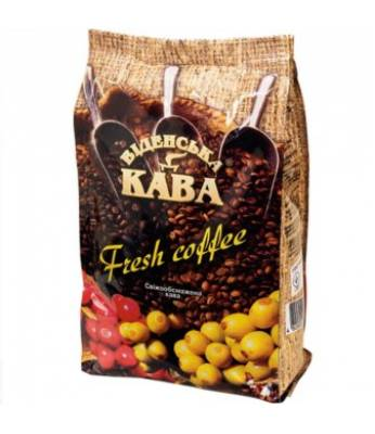 Кофе Віденська кава Fresh Сoffee в зернах 500 г