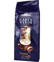 Кофе Carta Verde Grano di Caffe в зернах 1 кг