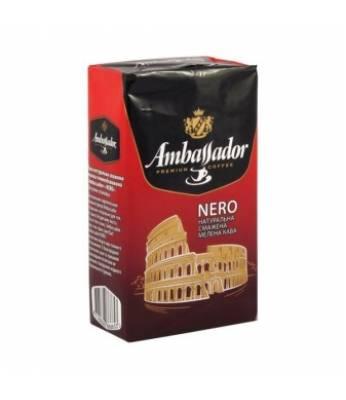 Кофе молотый Ambassador Nero 225 гр