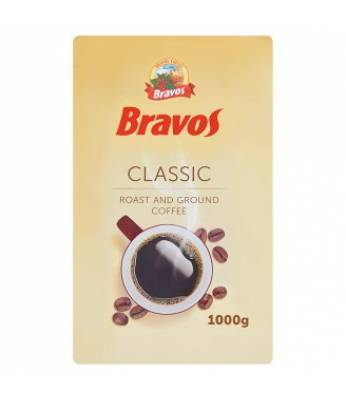 Кофе Bravos Classic молотый 1 кг