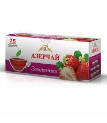 Чай Azercay Земляника 25 шт