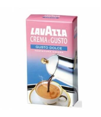 Кофе молотый Lavazza Crema e Gusto gusto dolce 250 гр