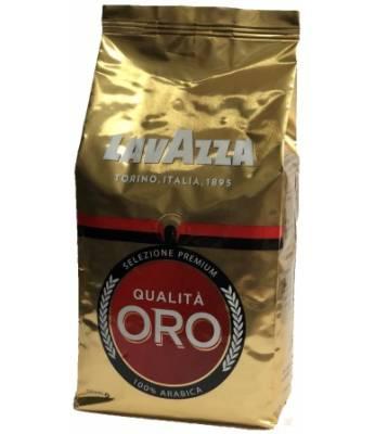 Кофе Lavazza Qualita Oro в зернах 1 кг (Польша)