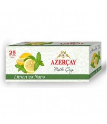 Чай Azercay Лимон и Мята 25 шт