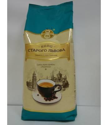 Кофе Кава Старого Львова Лігумінна в зернах 1 кг