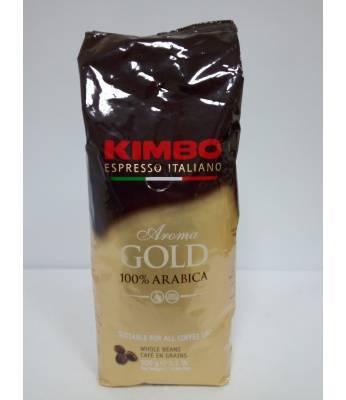 Кофе Kimbo Aroma Gold 100% Arabica в зернах 500 г  Оригинал (Италия)