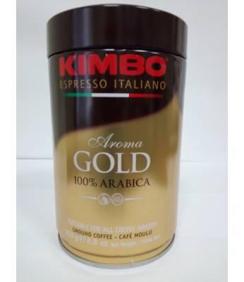 Кофе Kimbo Aroma Gold 100% Arabica ж/б молотый 250 г Оригинал (Италия)