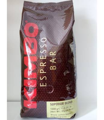 Кофе Kimbo Espresso Bar Superior Blend в зернах 1 кг