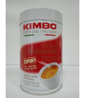 Кофе Kimbo Antica Tradizione ж/б молотый 250 г Оригинал (Италия)