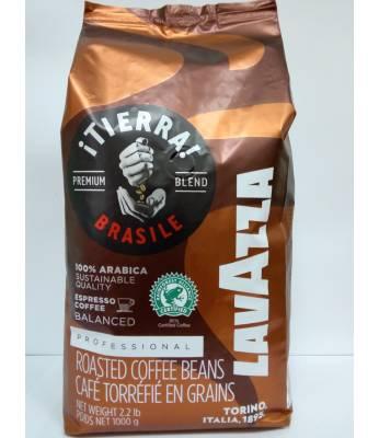 Кофе Lavazza Tierra Brazil 100% Arabica в зернах 1 кг Оригинал (Италия)