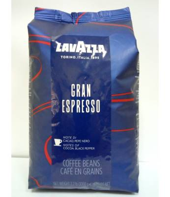Кофе Lavazza Gran Espresso в зернах 1 кг Оригинал (Италия)