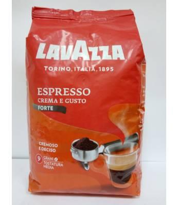Кофе Lavazza Crema Gusto Forte в зернах 1 кг  Оригинал (Италия)