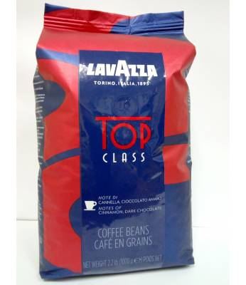 Кофе Lavazza Top Class в зернах 1 кг (Италия)
