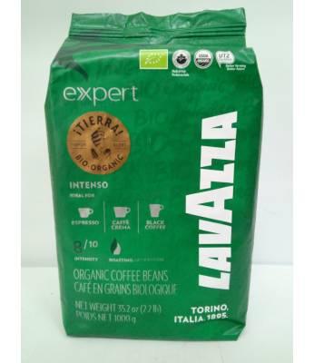 Кофе Lavazza Tierra Bio Organic Intenso  в зернах 1 кг  Оригинал (Италия)