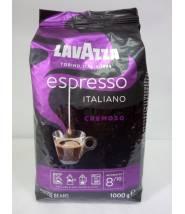 Кофе Lavazza Espresso Cremoso в зернах 1 кг Оригинал (Италия)