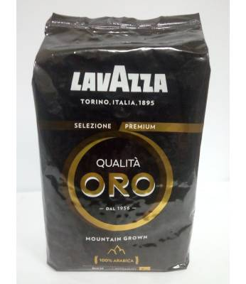 Кофе Lavazza Qualita Oro Mountain Grown в зернах 1 кг Оригинал (Италия)