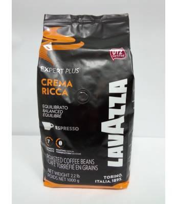 Кофе Lavazza Crema Ricca в зернах 1 кг (Италия)
