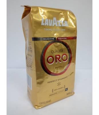 Кофе Lavazza Qualita Oro в зернах 500 г Оригинал  (Италия)