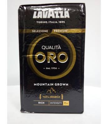 Кофе Lavazza Qualita Oro Mountain Grown  молотый 250  г (Италия)
