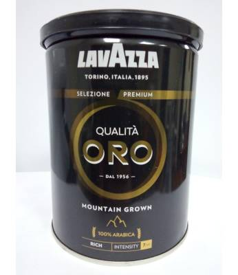 Кофе Lavazza Qualita Oro Mountain Grown ж/б молотый 250  г (Италия)
