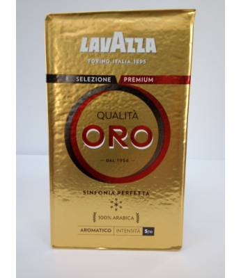 Кофе Lavazza Qualita Oro  молотый 250 г Оригинал (Италия)