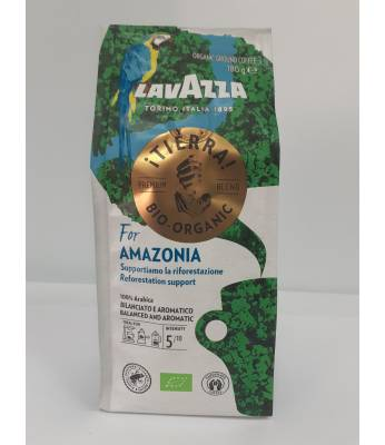 Кофе Lavazza Tierra Bio Organic Amazonia молотый 180 гр  Оригинал (Италия)