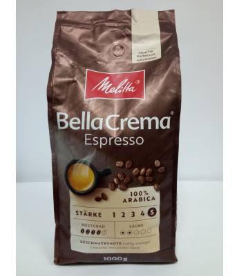 Кофе Melitta Bella Crema Espresso в зернах 1 кг ( Германия)