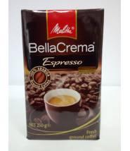 Кофе Melitta Bella Crema Espresso молотый 250г ( Германия)