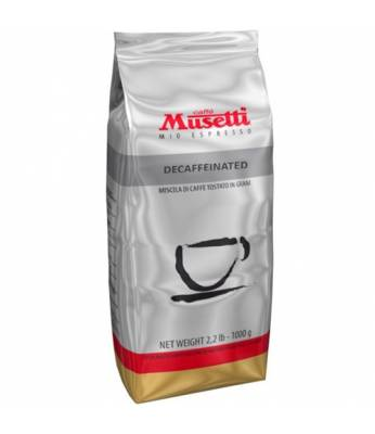 Кофе Musetti Caffe Decaffeinated в зернах 1 кг