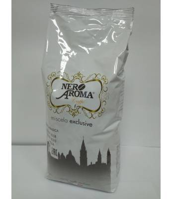 Кофе Nero Aroma Exclusive 100% Arabica в зернах 1 кг